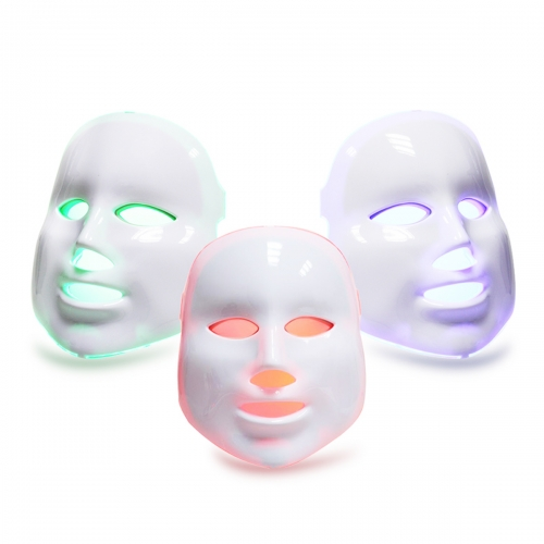 PDT Led Photon Therapy Facial Mask 3 Color Light Beauty Skin Care Treatment for Skin Rejuvenation